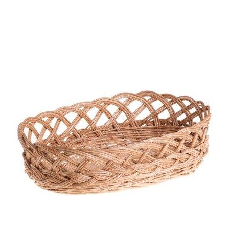Wicker kitchen storage basket